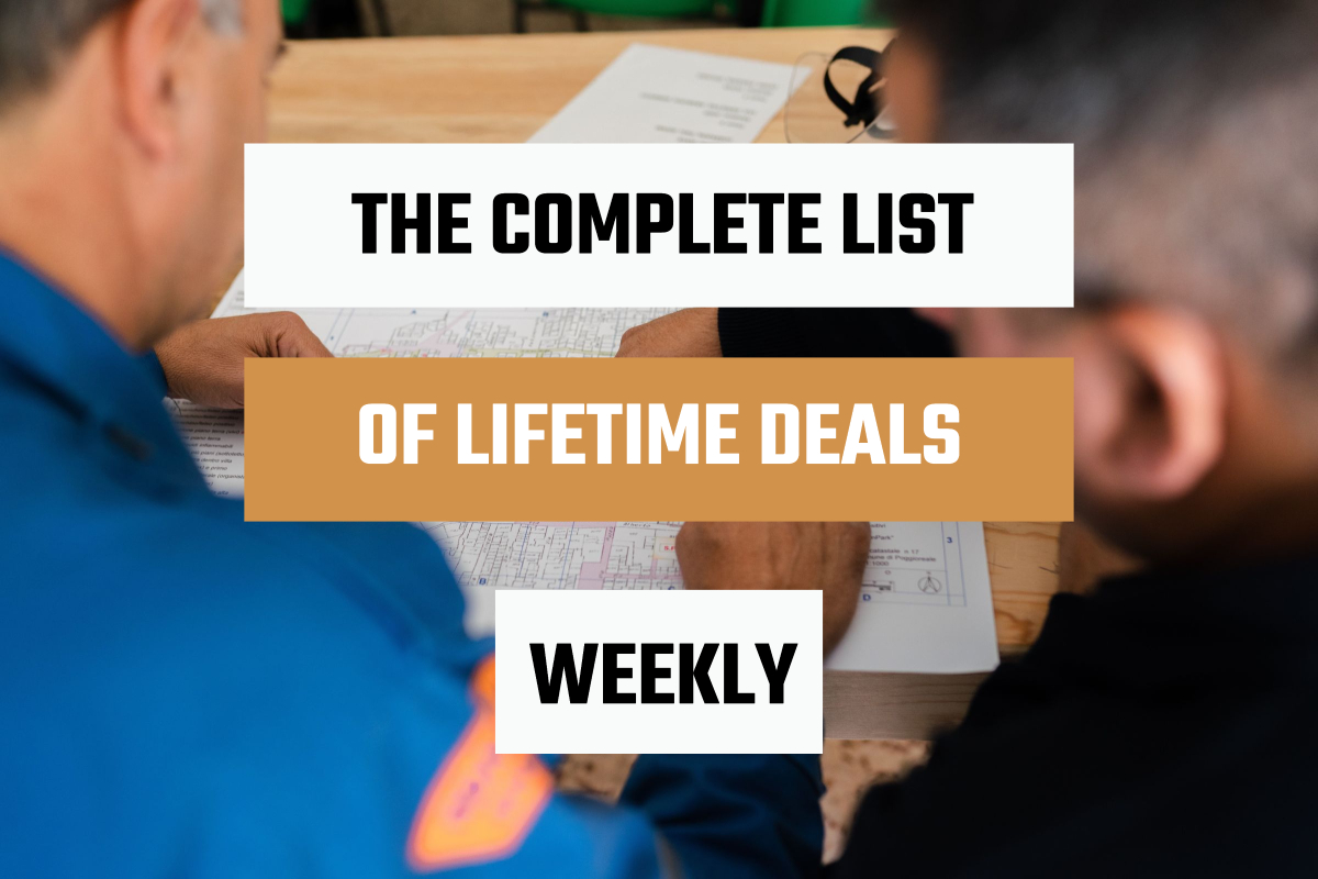 """The Weekly List of """"Diamonds in the Rough"""" Lifetime Deals"""