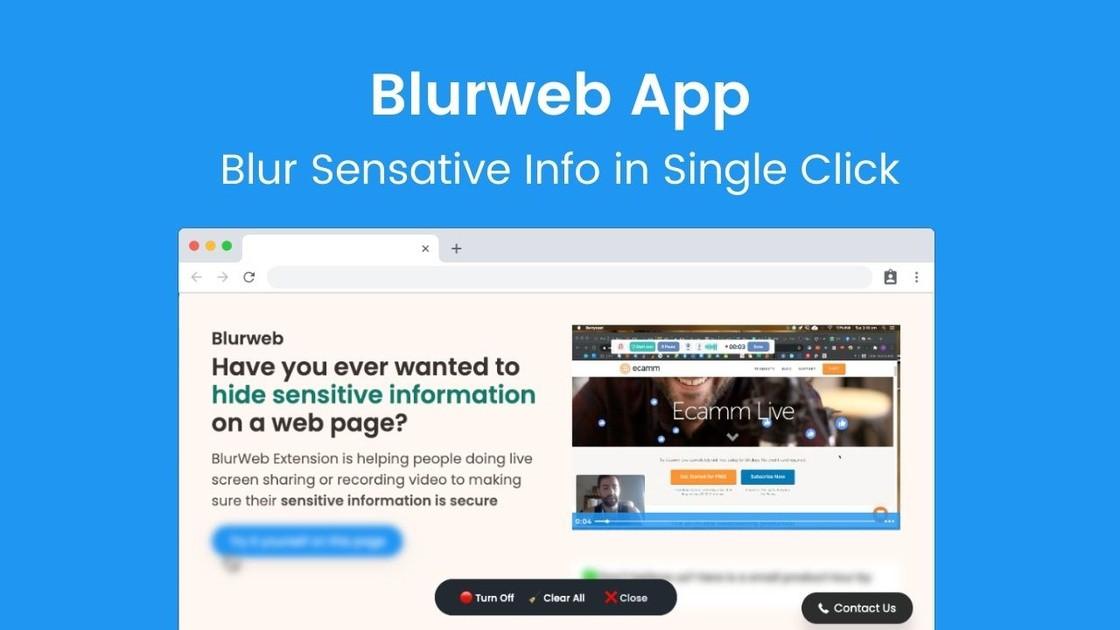 Blurweb