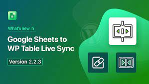 WP Table Live Sync