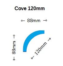 Cove Cornice Profile 110mm