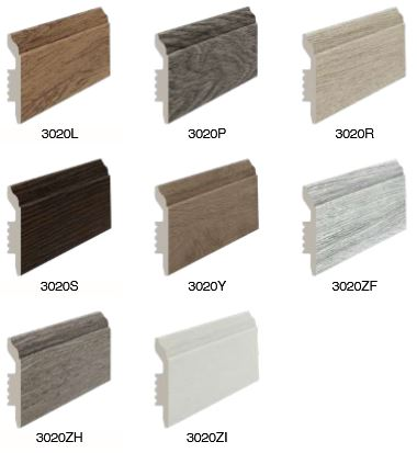 Fashionable Skirtings, Waterproof, Insect Proof, Easy to Install