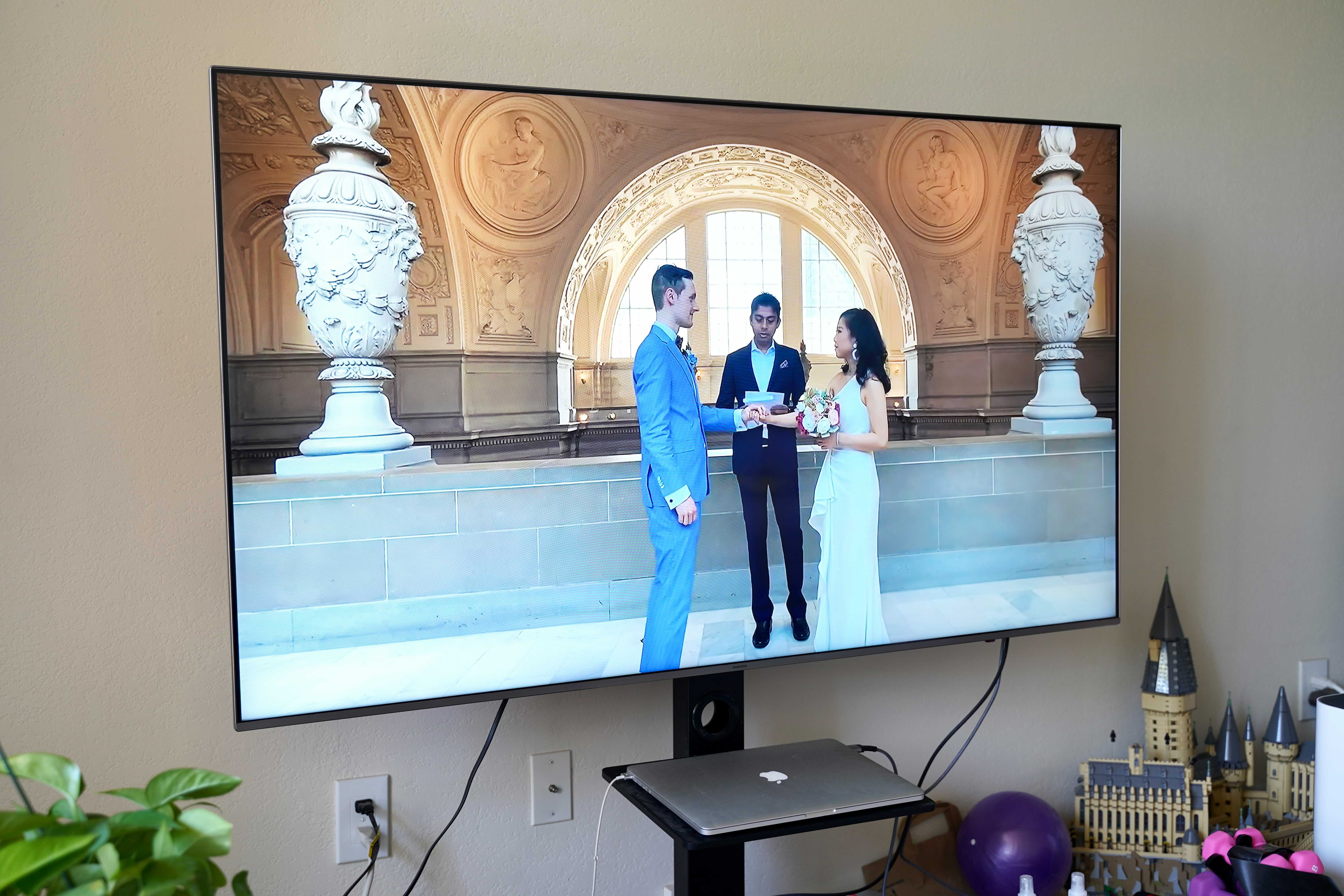 How to Watch A Wedding Livestream on TV