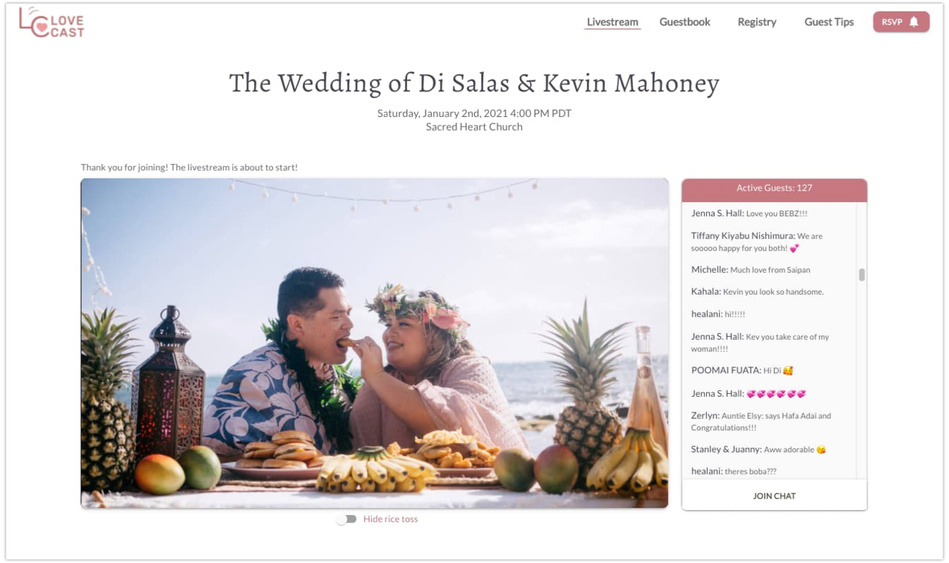 How to invite guests to your hawaii wedding