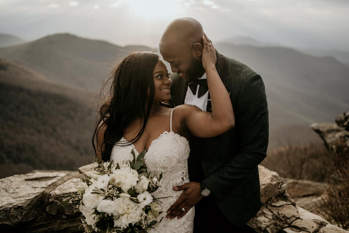 Elijah and Kelsay's Hike to the Finish Line: From College to a Rooftop Wedding