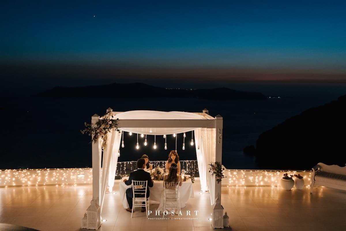 A Glamorous Oceanfront Destination Wedding in Greece