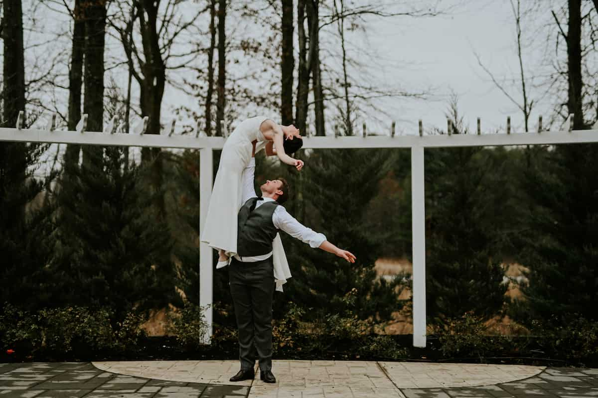 Two Gorgeous Ballerina's Tie the Knot