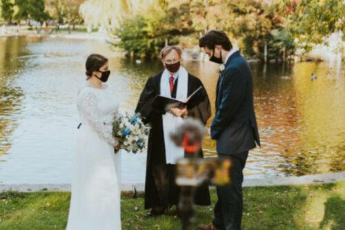 wedding live stream during coronavirus