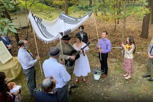 jewish wedding live stream