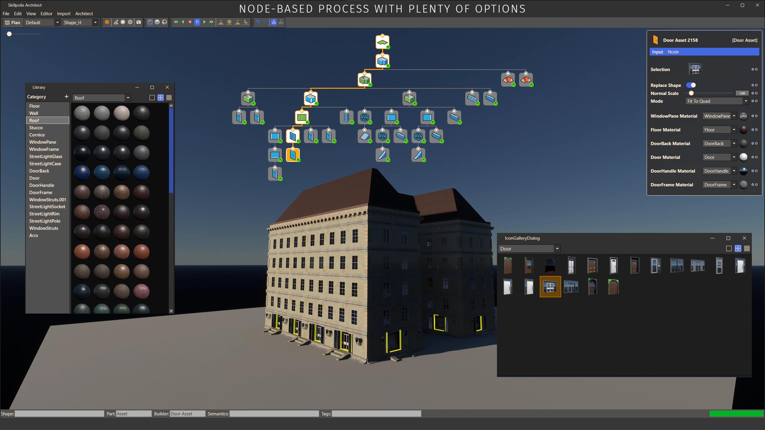 skillpolis node based process options