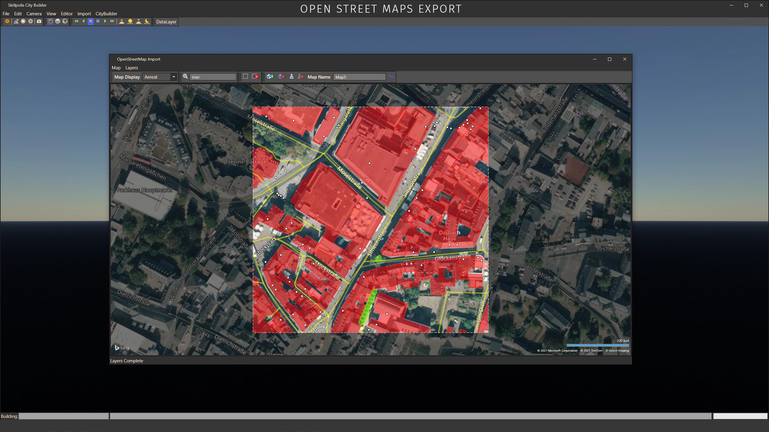 skillpolis open street maps export