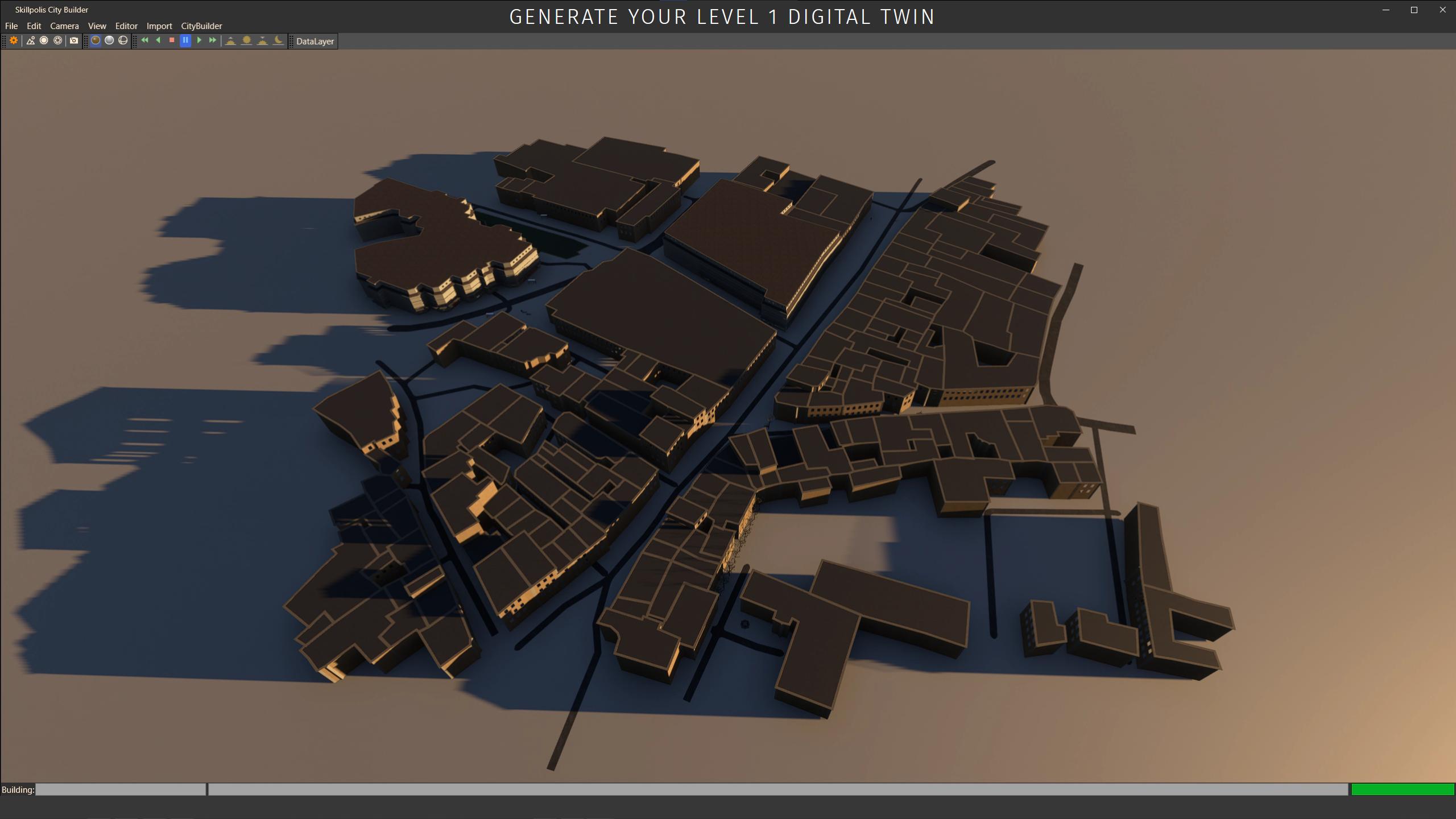 skillpolis generate level 1 digital twin