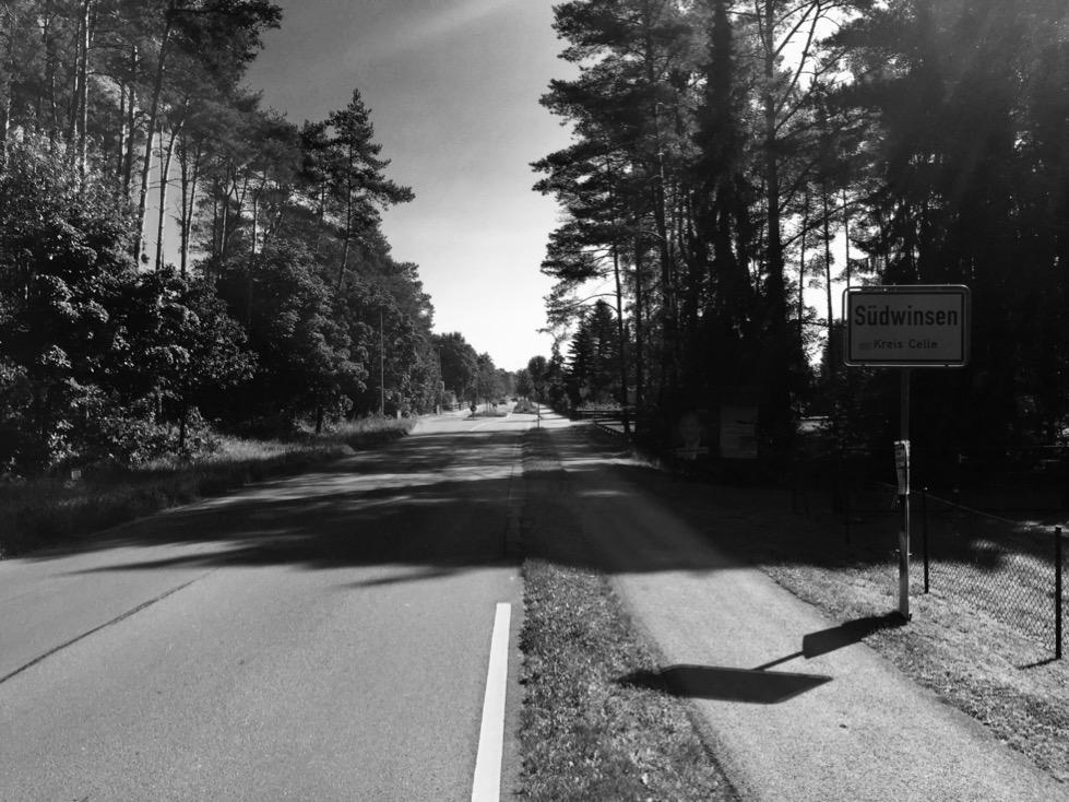 Bild von der Hornbosteler Straße