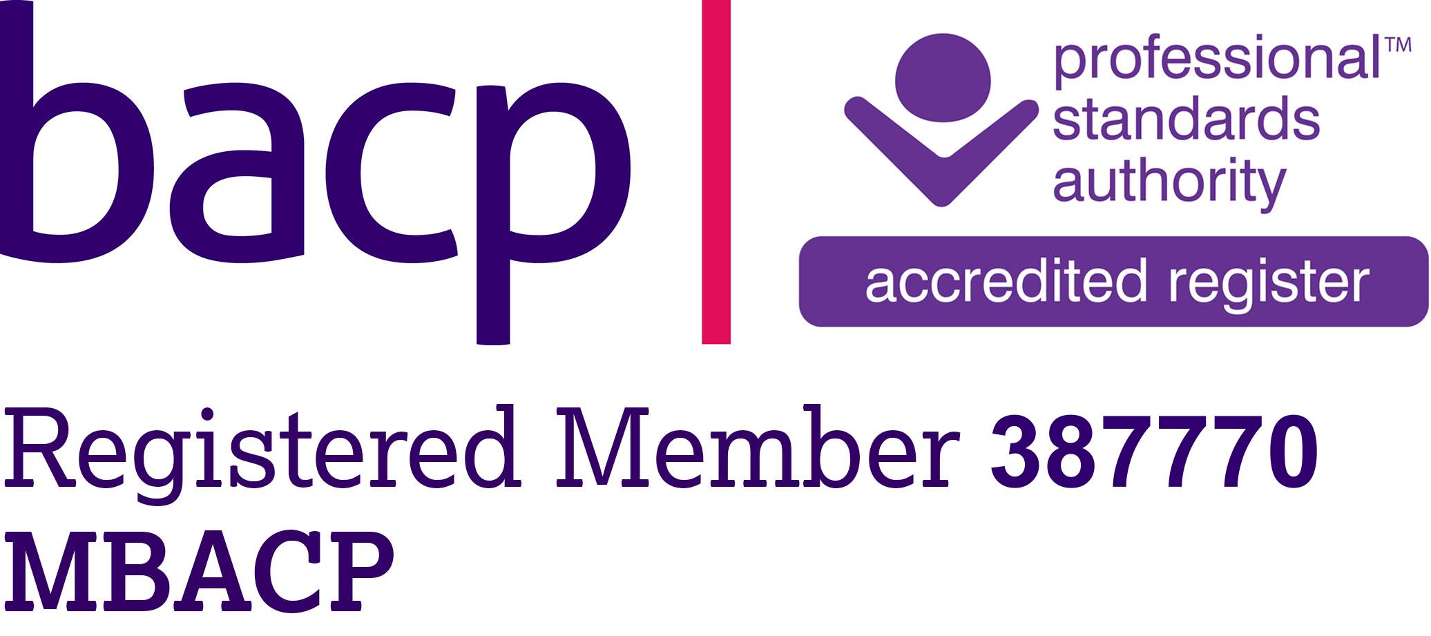 MBACP Accreditation Logo