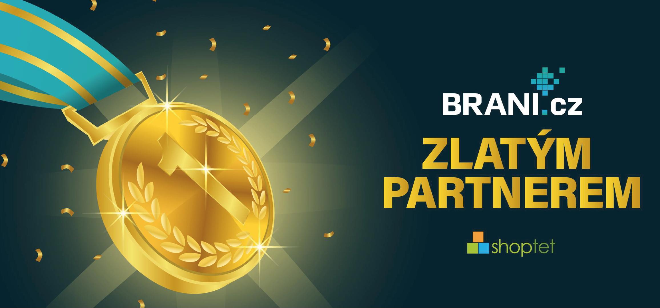 Brani.cz se stal zlatým partnerem Shoptetu