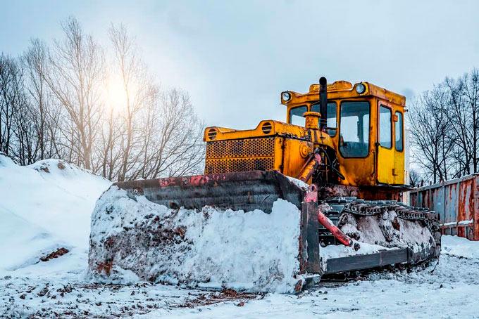 construction site ice management