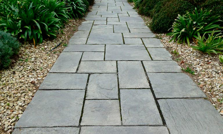 Garden Slate Path