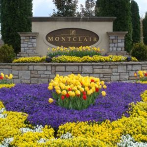 Adding landscaping around your business sign can be an effective way to make your business stand out.