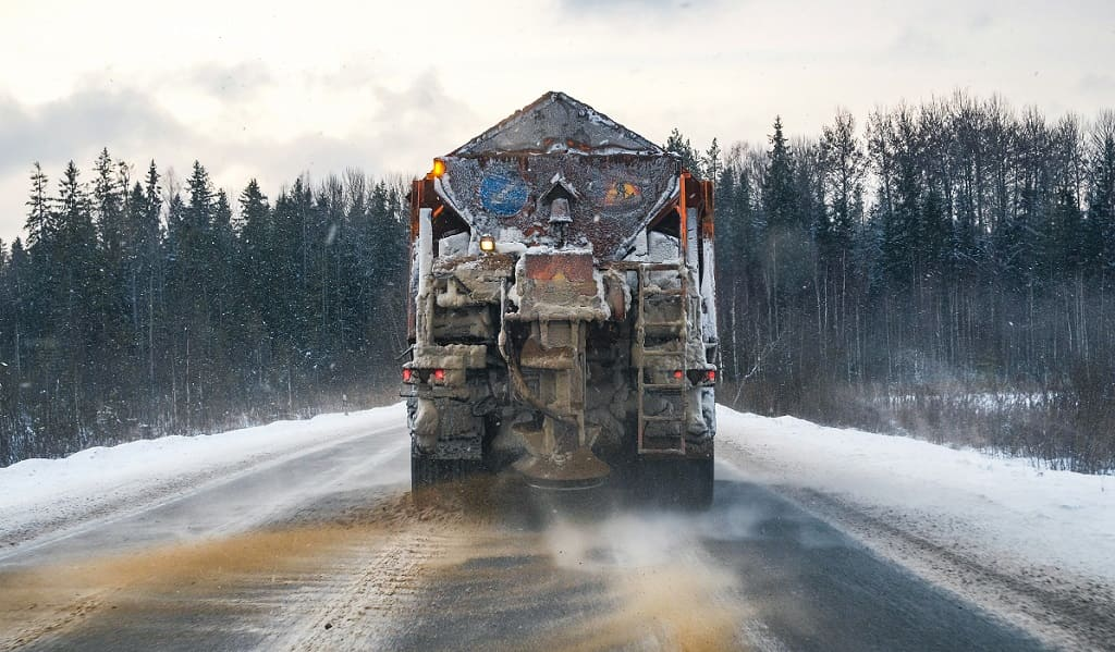 Sand Snow Removal