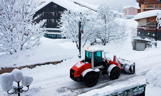 Snow removal contracts