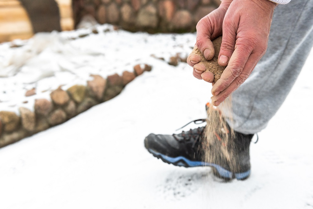 Is Sand or Salt Better for Ice and Snow Control?