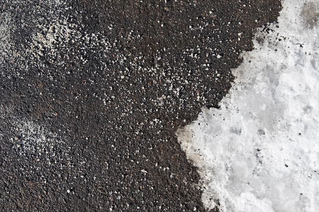 When to Use Salt for Snow and Ice