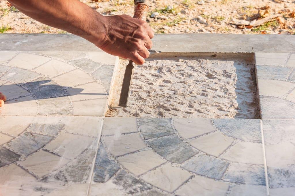 Sidewalk Slate Installation and Repair