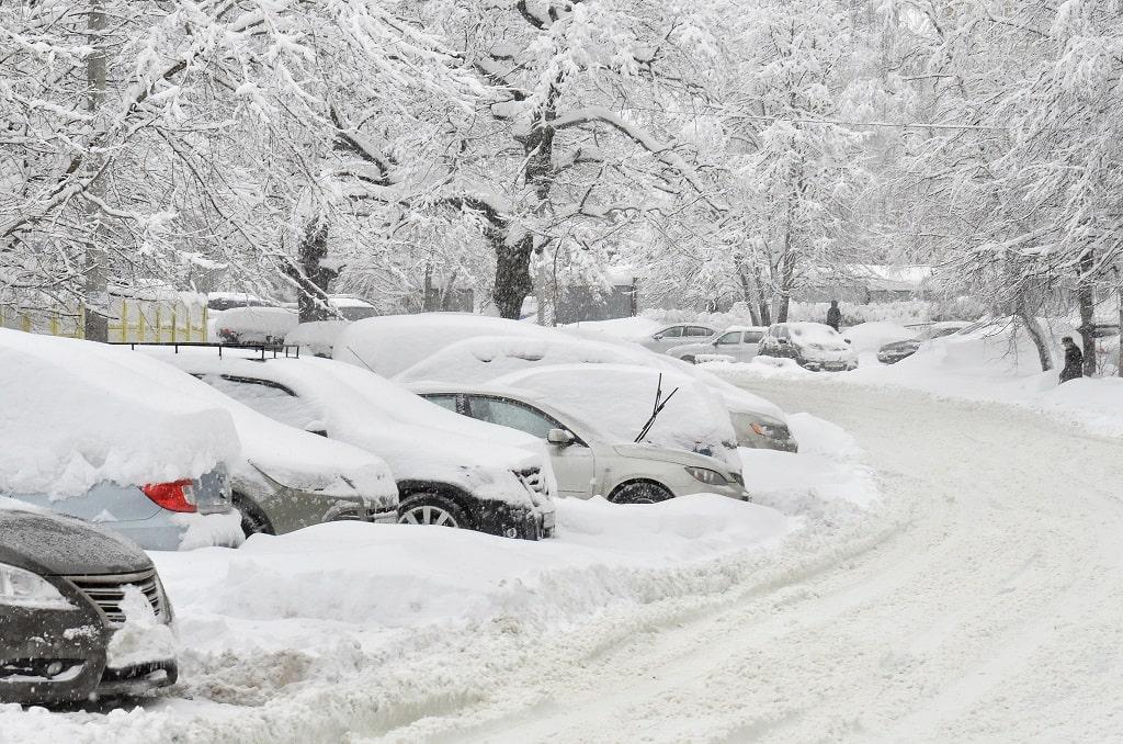 Street Parking Snow Emergency