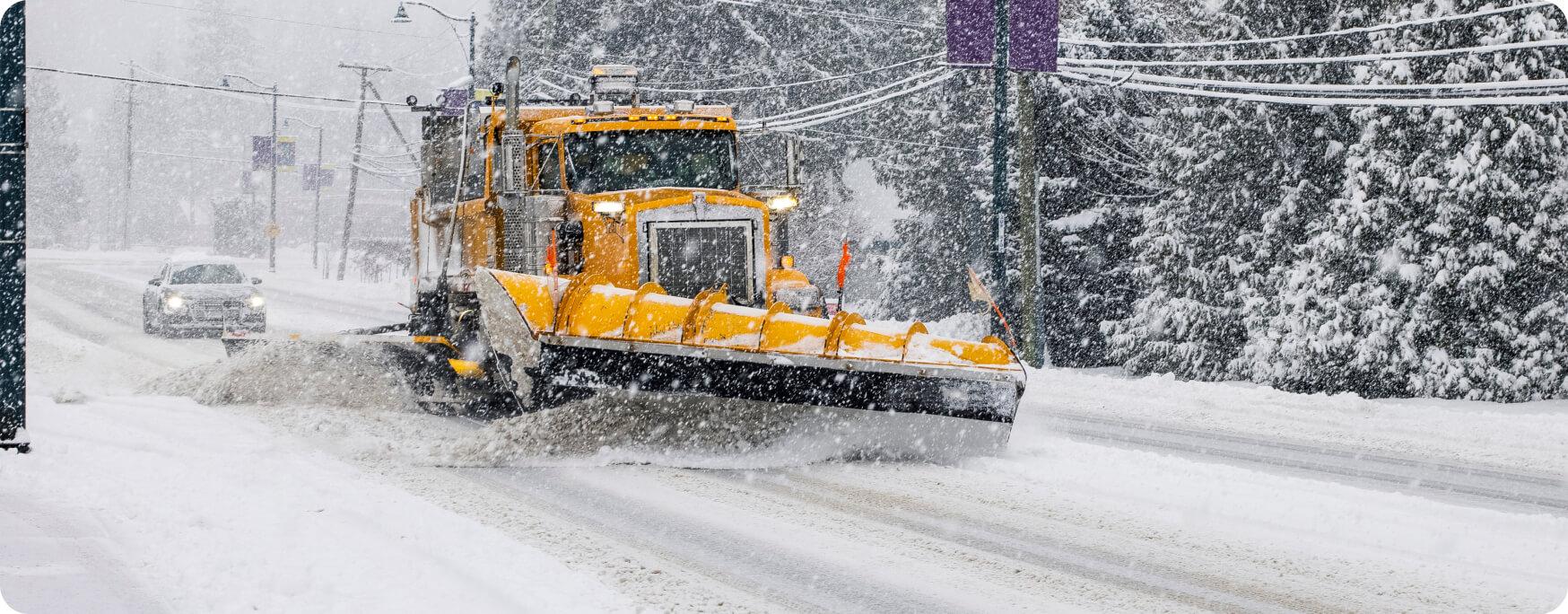24-Hour Snow Plow Service