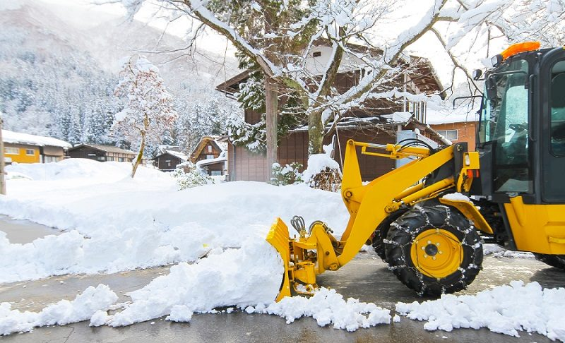 Say 'NO' to Parking Lot Snow with Earth Development