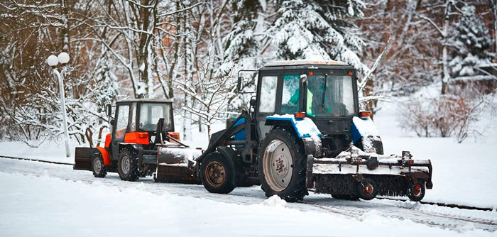 Hotels Snow Removal Vehicles