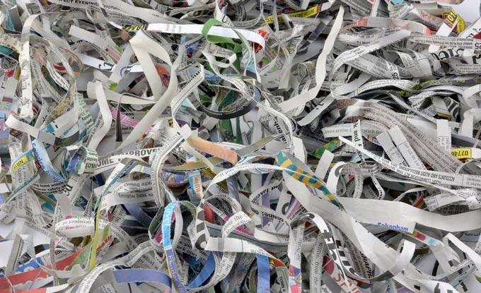 Mulch Newspaper