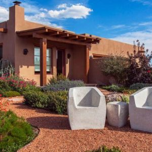 Gravel can be used in landscaping to create pathways or weed barriers for gardens.
