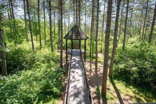 Monk Botanical Gardens in Wausau Wisconsin