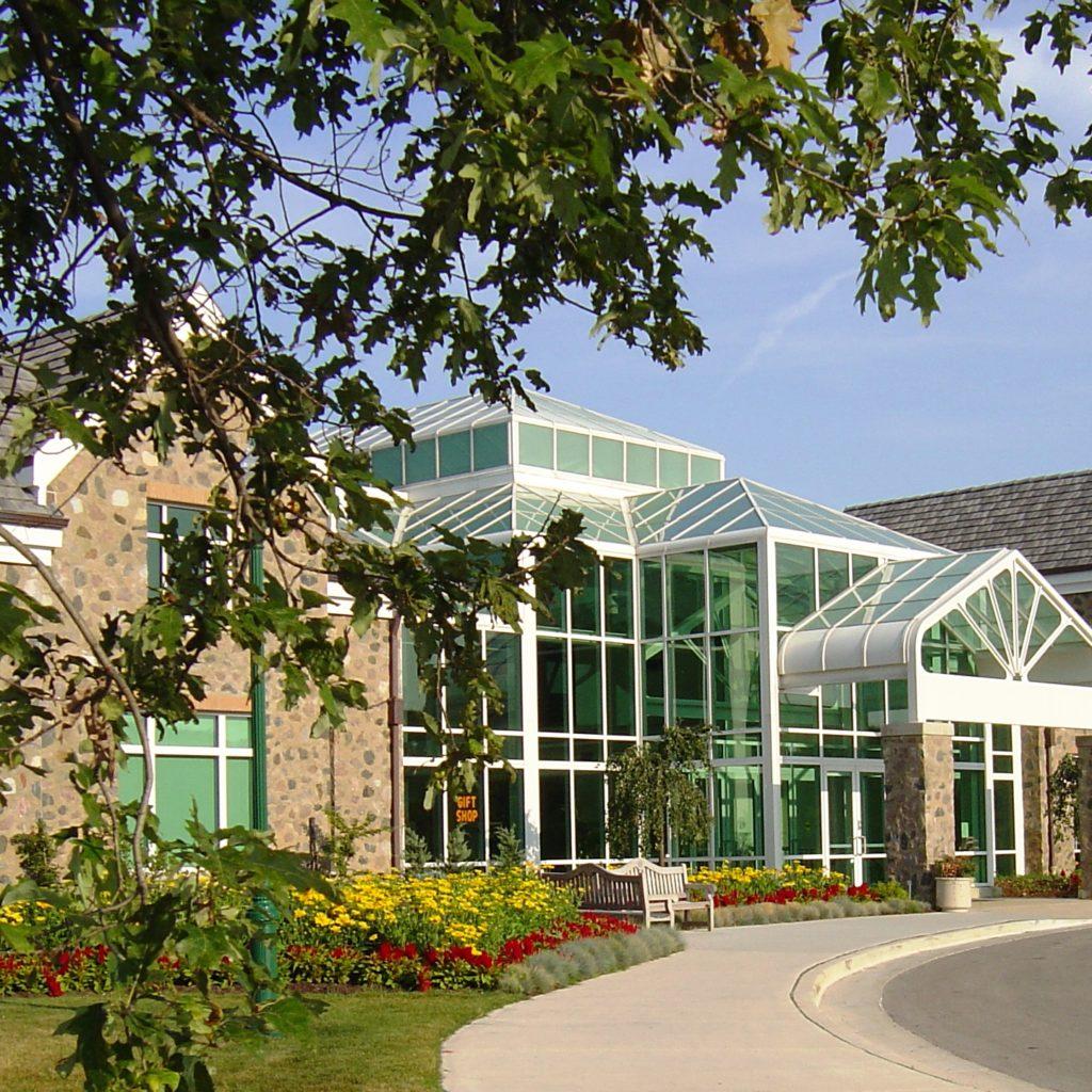Boerner Botanical Gardens in Hales Corners Wisconsin