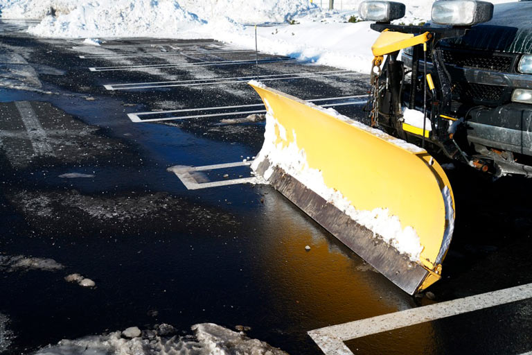 We have the equipment, experience, and organization required to effectively deal with all of your commercial snow and ice removal needs in the Columbus Ohio area. Why should you trust us with your snow and ice management? Here are some of the many reasons: