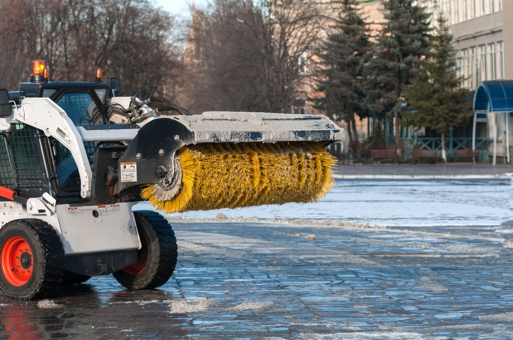 r Snow Plow Equipment Is Always Serviced and Operational