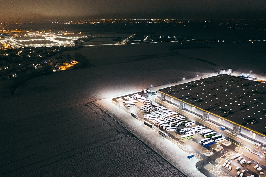 Snow Removal Contract for Shipping Depo