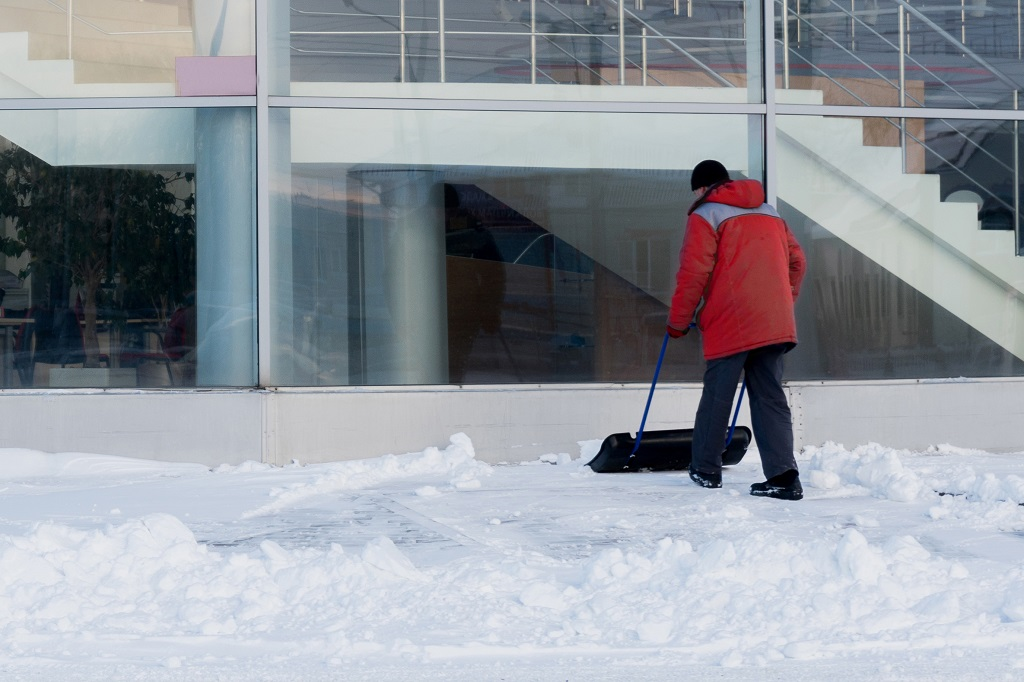 Snow Removal Contract for Offices