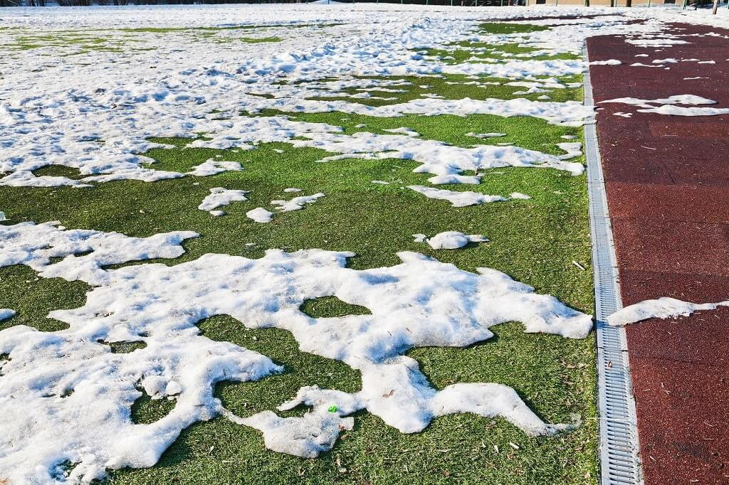Snow Melting Commercial Property