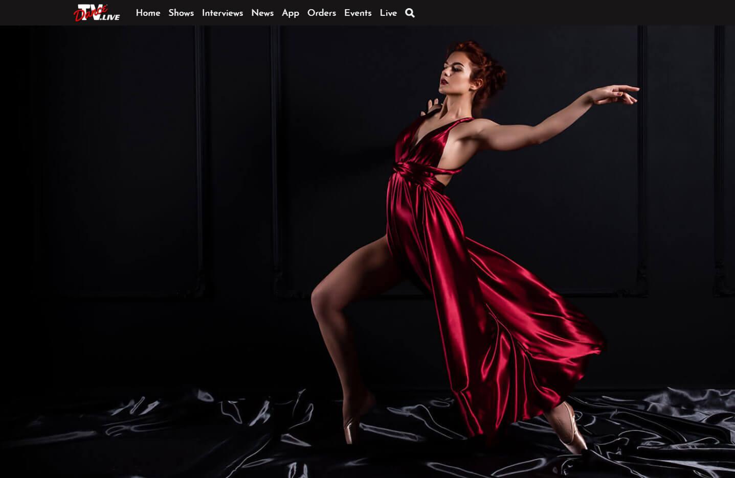 Veset powers a new live ballroom dancing channel TVDance.Live