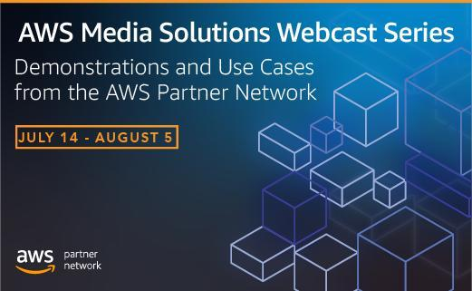 Veset to participate in AWS Media Solutions Webcast Series