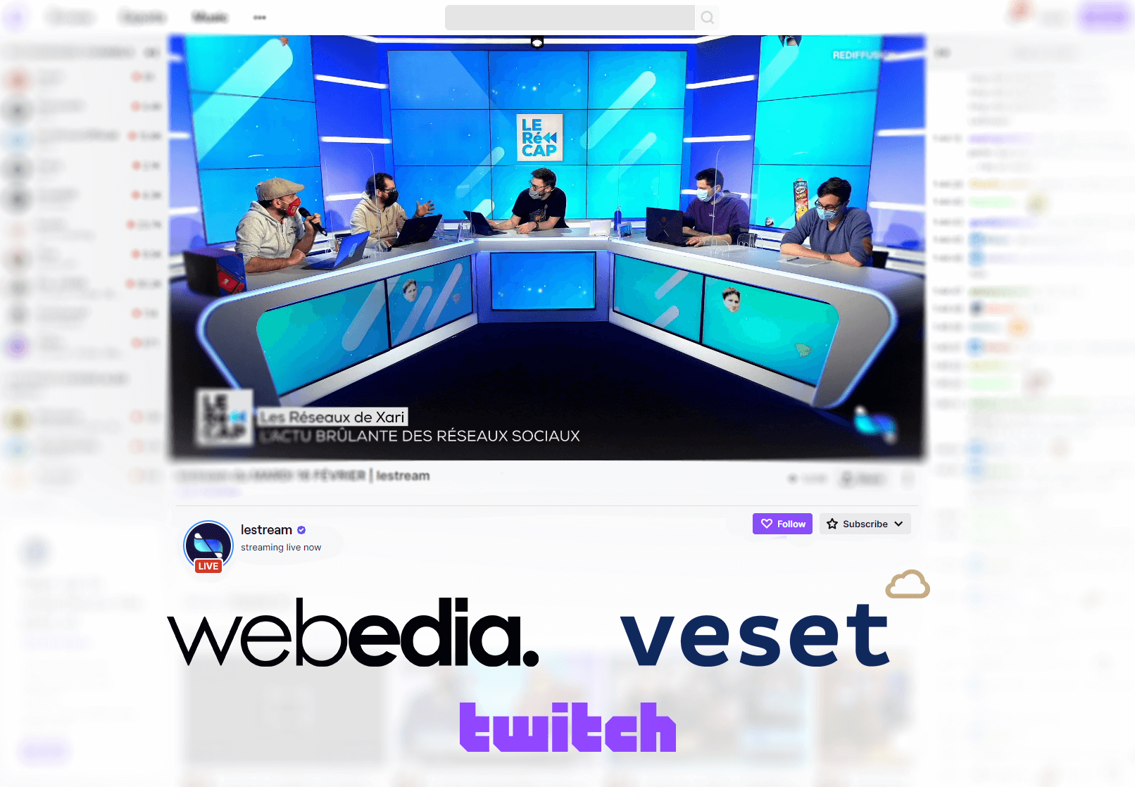 Veset Brings Webedia's Popular Gaming Channel on Twitch