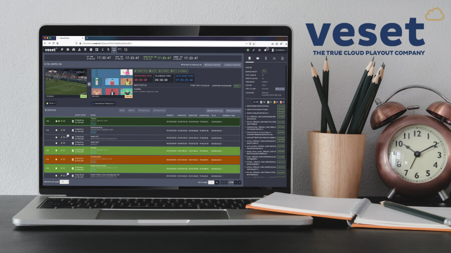 VESET ANNOUNCES SUPPORT FOR AWS FOR MEDIA & ENTERTAINMENT INITIATIVE