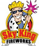 Sky King Fireworks logo