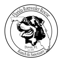 Florida Rottweiler Rescue Ranch and Sanctuary logo