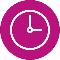 Sé puntual con la hora agendada