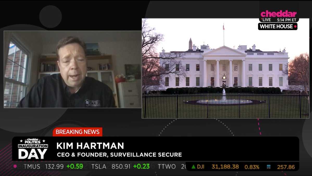 Surveillance Secure Cheddar TV
