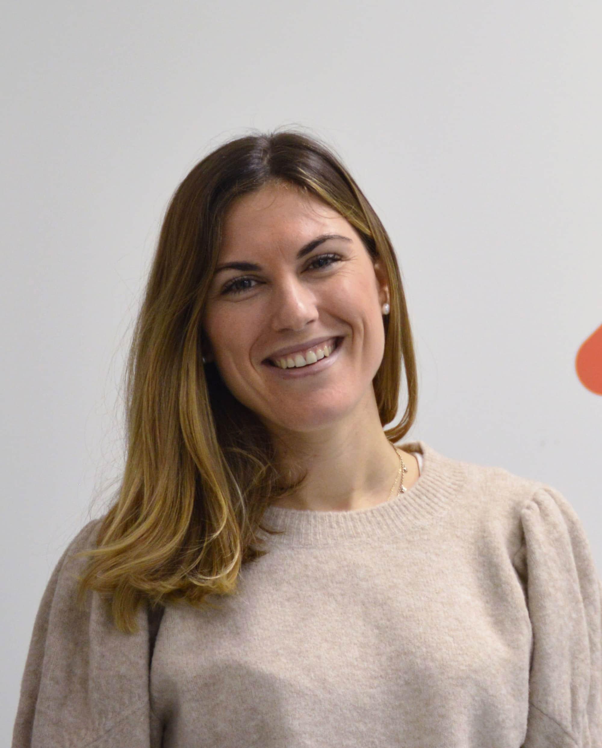 A portrait of Andrea Sanchez, the country success lead of F10 Spain