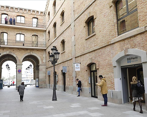 An image of the Barcelona Tech City building, where the F10 Incubation program is based