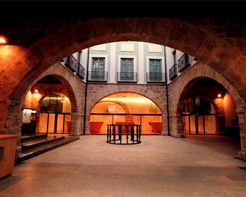 An image of the stock exchange in Valencia